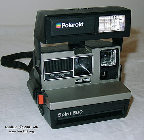 polaroid spirit 600 cl briefenterprise. Black Bedroom Furniture Sets. Home Design Ideas